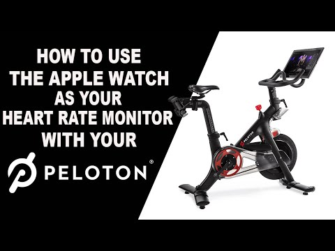 How To Use Your Apple Watch As A Heart Rate Monitor With Peloton!