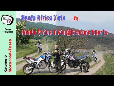Honda Africa Twin Standard vs. Adventure Sports | Die Unterschiede | Plus: DCT vs. Quickshifter