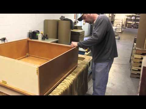 International Kitchen Supply - Assemble a Wall Cabinet - YouTube