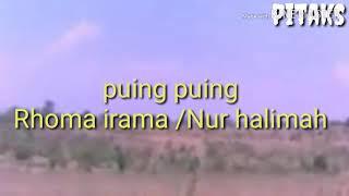 puing puing /rhoma irama