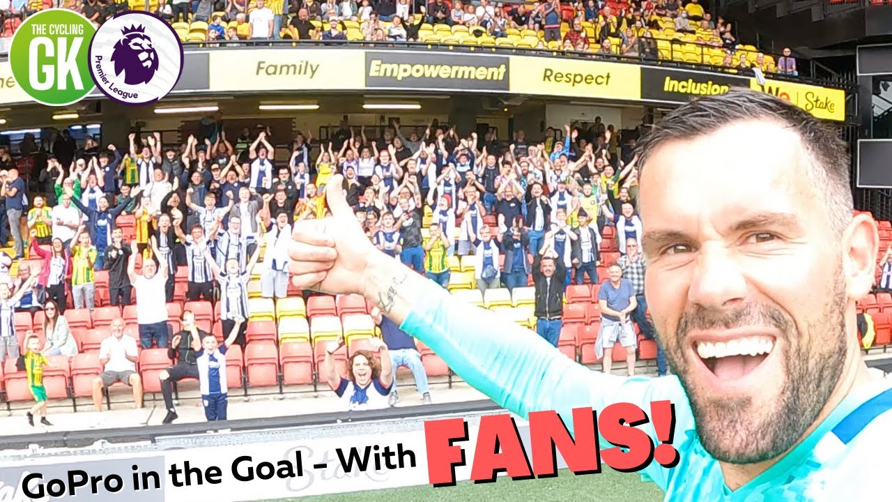 GoPro in the Goal - With FANS!