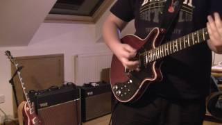 brian may guitar and vox ac30 cc2 jam