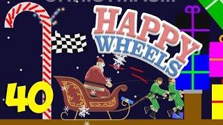 УБИЙЦА САНТА КЛАУС!!! ЭЛЬФЫ ИЗВРАЩЕНЦЫ!! - Happy Wheels 40