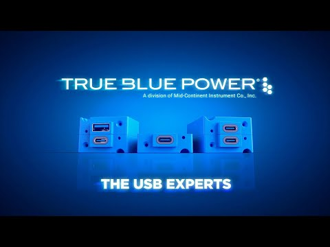 TA360 Series USB Power Delivery (PD) Charging Port  True Blue Power®