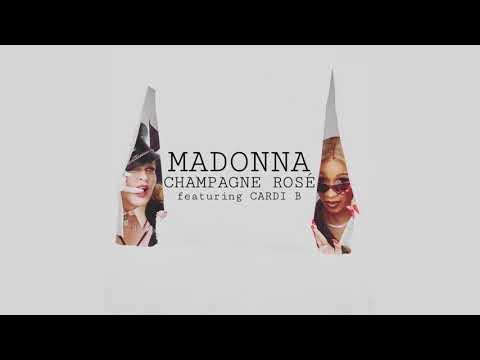 Madonna - Champagne Rosé (Audio) Feat. Cardi B