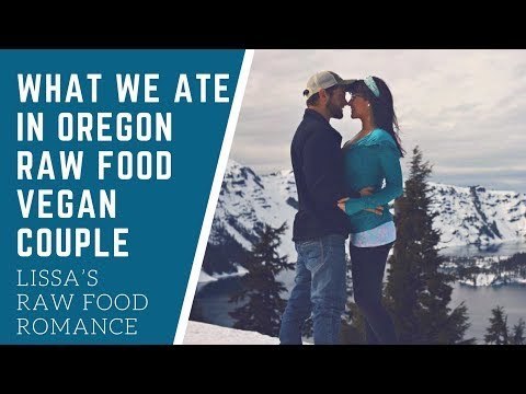 WHAT WE DID AND ATE IN OREGON || RAW FOOD VEGAN || WEIGHT LOSS HEALTH TRAVEL
