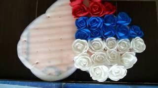 Собираю русско-армянское сердце из роз на свадьбу
