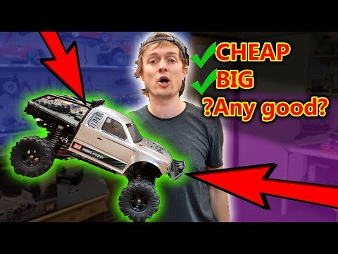 How Good Or BAD Is This Cheap RC Car Crawler