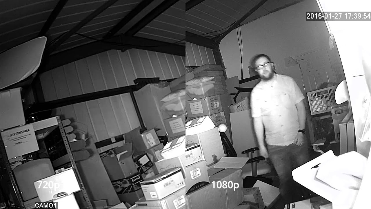 IP CCTV Camera Comparison 720p vs 1080p Night Vision
