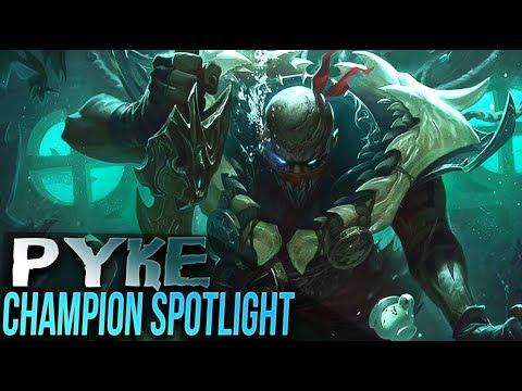 Pyke Champion Abilities