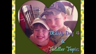 VEDA Day 4 & Toddler Topic Video: Potty Training