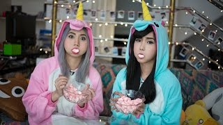 Chubby Bunny Challenge - Alodia & Ashley