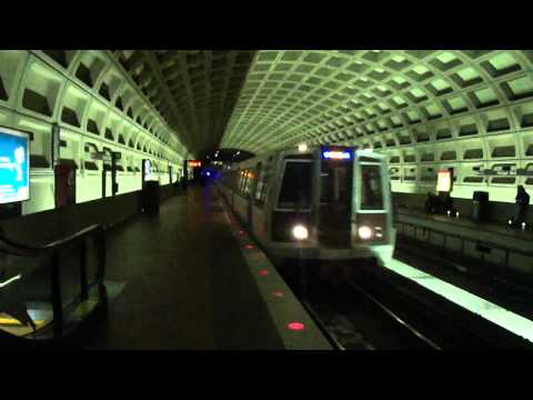 WMATAs CAF ROHR BREDA REHAB Set On The Blue Line at Farragut West Station