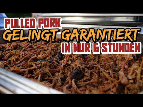 Texas Pulled Pork | Saftiges Pulled Pork in 6 Stunden!!