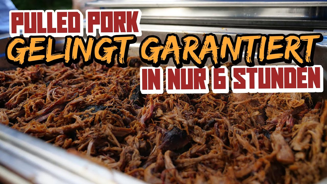 Pulled Pork Burger Gasgrill : Texas pulled pork saftiges pulled pork in stunden youtube