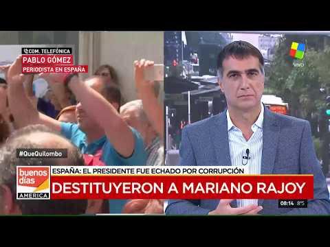 España: Destituyeron al presidente Mariano Rajoy por corrupción