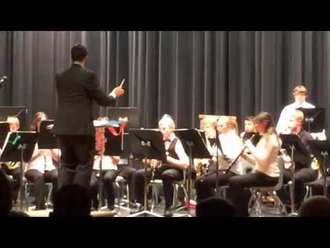 sgp-Platte Valley High School Band Performing Separation Composed by KC Guzman