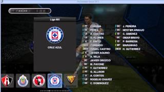 Pes 2013 parche liga mx pc