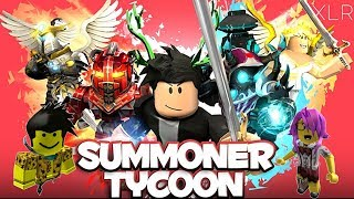 Roblox - Summoner Tycoon (LIVE) Come chill!