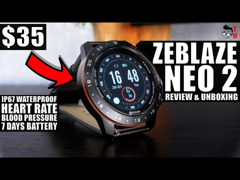 Zeblaze NEO 2 REVIEW: Brutal Sports Watch For Men 2020!