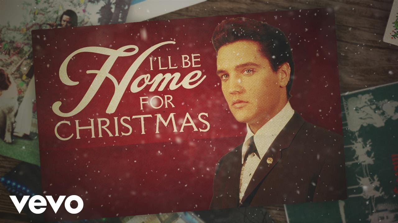 elvis presley ill be home for christmas lyric video - Who Wrote I Ll Be Home For Christmas