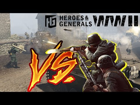 Heroes And Generals ► Infantry Vs Tanks (No AT Rambo)