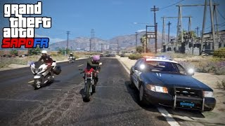 GTA SAPDFR - DOJ 64 - Interfering with a Pursuit (Criminal)