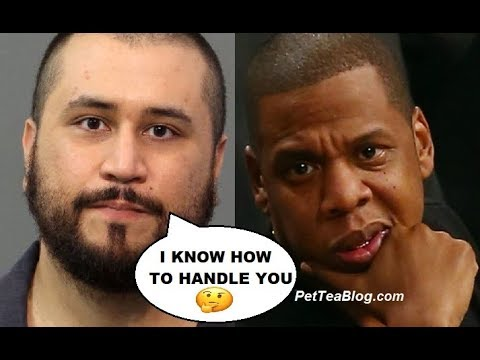 George Zimmerman Comes For Jay Z Over Trayvon Martin Documentary he's Filming
