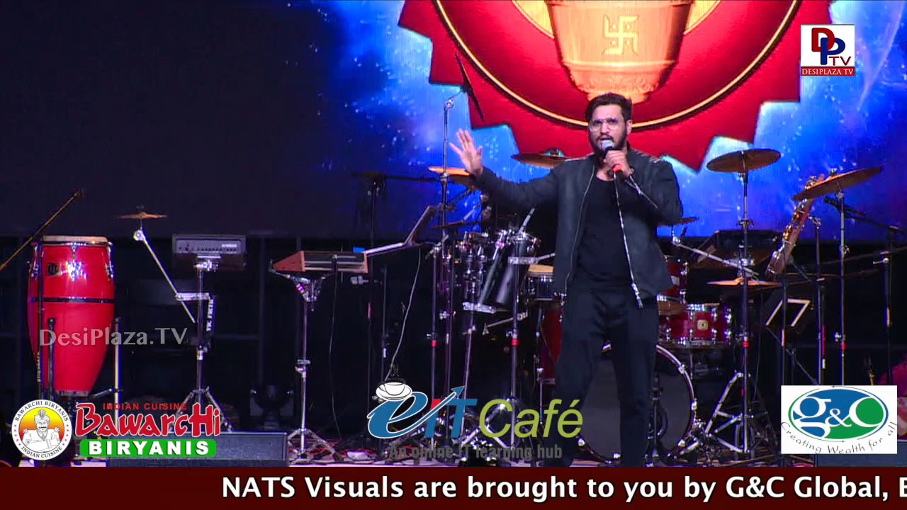 Keshava movie hero Nikhil Speaking @ NATS Conference - Chicago