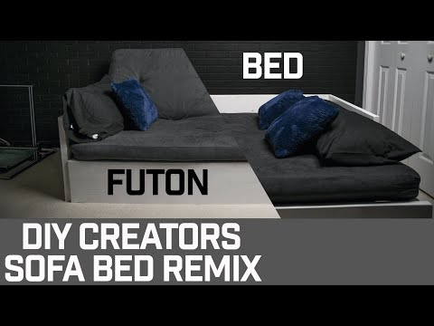 DIY Futon/Bed (DIY Creators Remix)