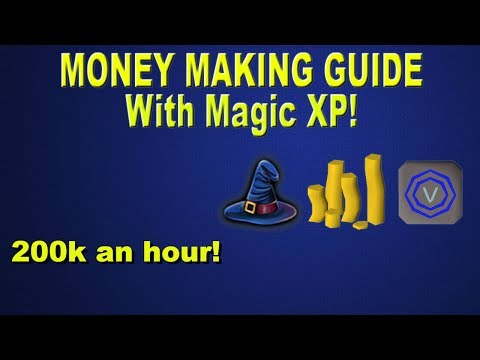 OSRS - Best Magic Training for low levels in Game! Money Making Guide