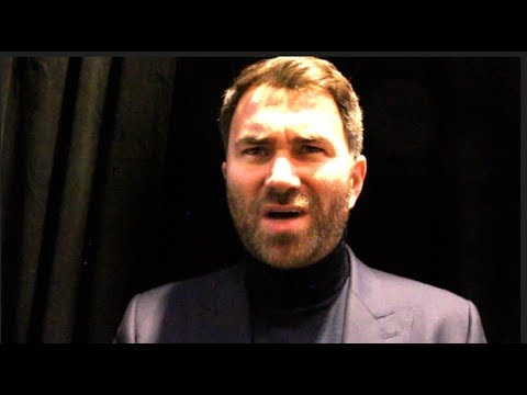 'ARE WE RUNNING OR BEGGING?' - EDDIE HEARN TO DEONTAY WILDER, & ON CANELO-ROCKY, JOSHUA, KHAN-BROOK