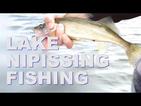 FISHING EPISODE 11 - Fish N FIre - NHL Players on Lake Nipissing PT 2