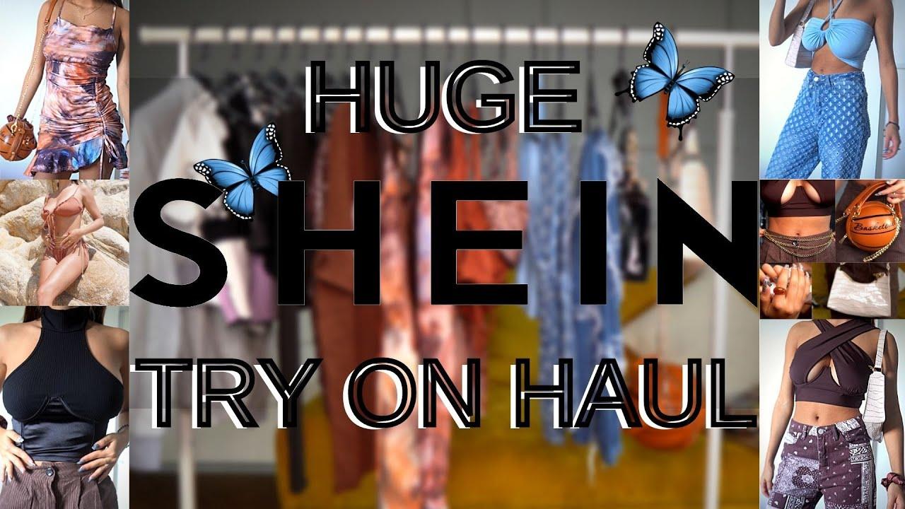 HAUL URIAS cu HAINE DE PE SHEIN || CUM AM COMANDAT IN ROMANIA