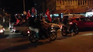 15 temmuz gecesi GAZİANTEP (çarşı caddesi)...