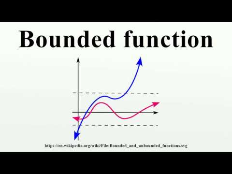 Bounded function