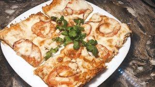 Быстрая пицца для ленивых из лаваша