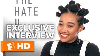 The Cast of 'The Hate U Give' Discuss Authenticity and Empowerment | Full Interview | Fandango