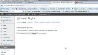 WP SB Install Plugin Video