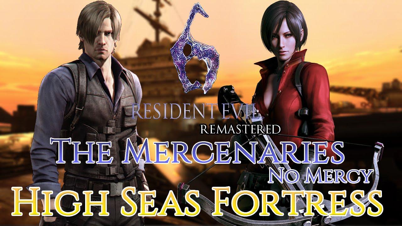Resident Evil 6 Remastered Mercenaries NO MERCY Ada SS
