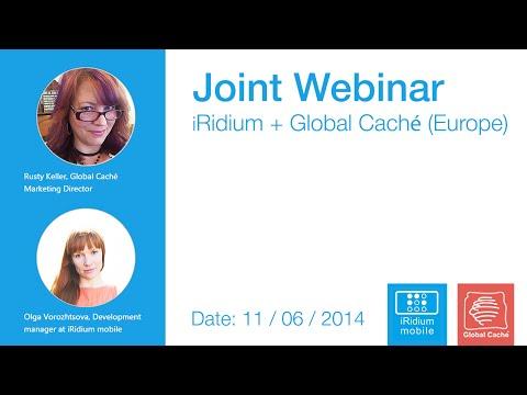 Video of the Joint Webinar iRidium + Global Caché (Europe)