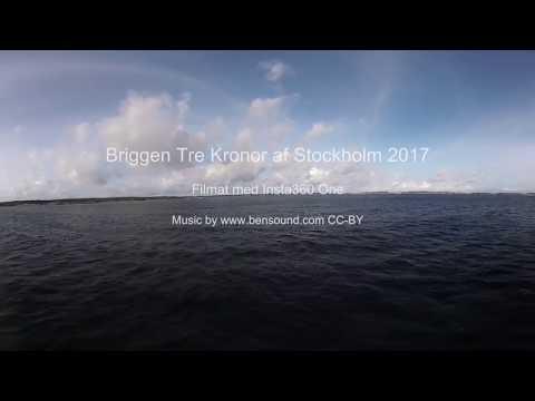 360-video Längst fram på Briggen Tre Kronor