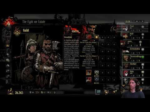 Darkest Dungeon Crimson Courtyard: Bloodmoon/Torchless Part 3