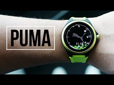 PUMA Smartwatch: SERIOUS fitness meets Wear OS