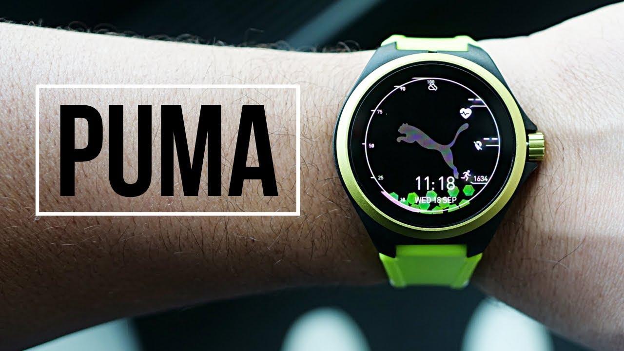 Фитнес Одежда. PUMA Smartwatch: SERIOUS Fitness Meets Wear