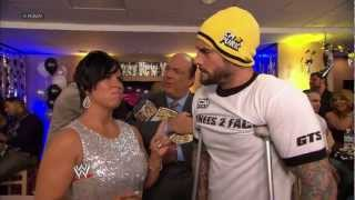 Raw Managing Supervisor Vickie Guerrero hosts a New Year's Eve party: Raw, Dec. 31, 2012