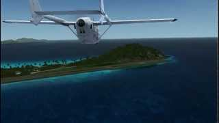 Carenado C337H FSX Flying in the Caribbean (HD) Part 2