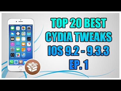 Top 20 Best FREE Cydia Tweaks iOS 9.3.3 | Ep.1 [HD - ITA]