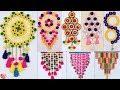 10 DIY Woolen Wall Hanging Ideas !! DIY Room Decor !!!