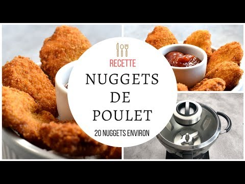 nuggets de poulet recette au cook expert de magimix. Black Bedroom Furniture Sets. Home Design Ideas